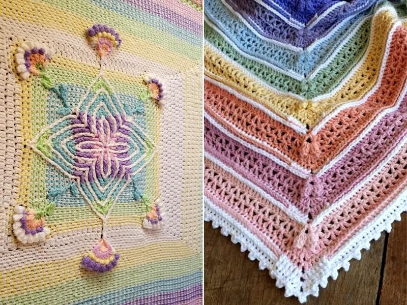 CAL Baby Blankies Free Crochet Patterns
