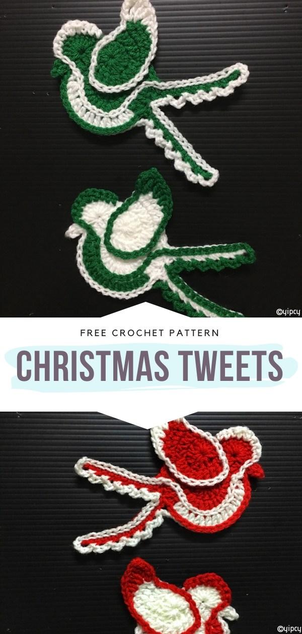 Christmas Tweets Free Crochet Pattern