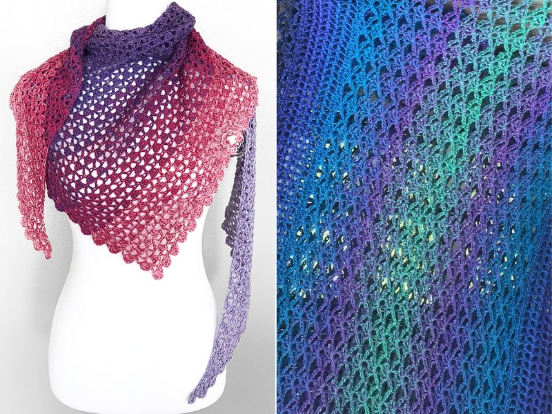Crochet Poetry Shawls Free Patterns