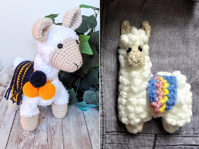 Cute Llamas Free Crochet Patterns