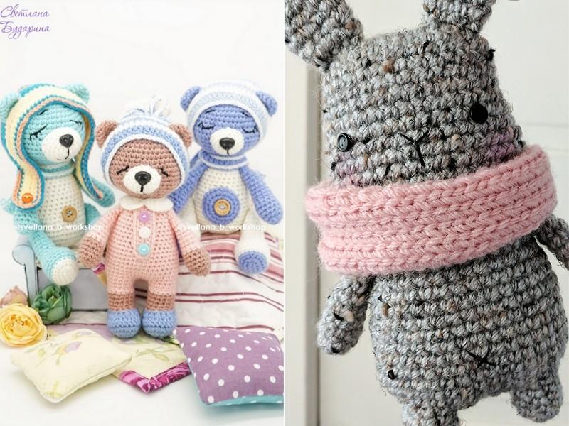 Delightful Bears Free Crochet Patterns