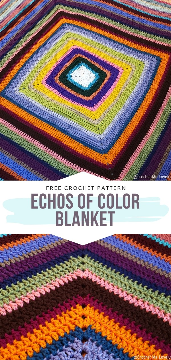Echos of Color Free Crochet Pattern