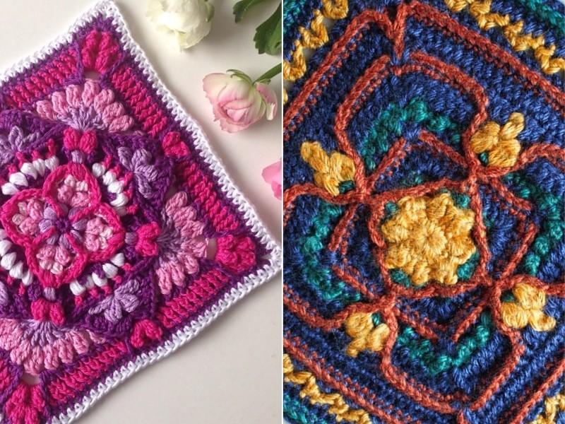 Extraordinary Squares Free Crochet Patterns