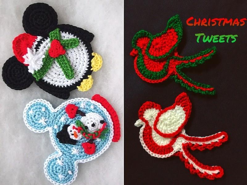 Festive Ornaments Free Crochet Patterns