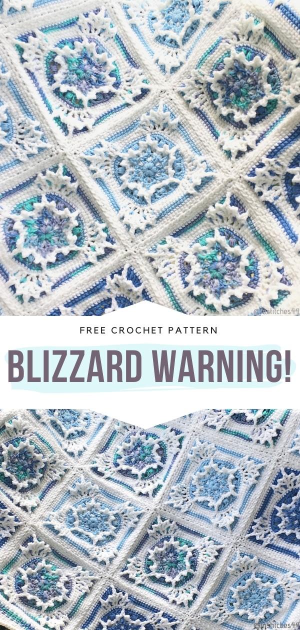 Blizzard Warning Blanket