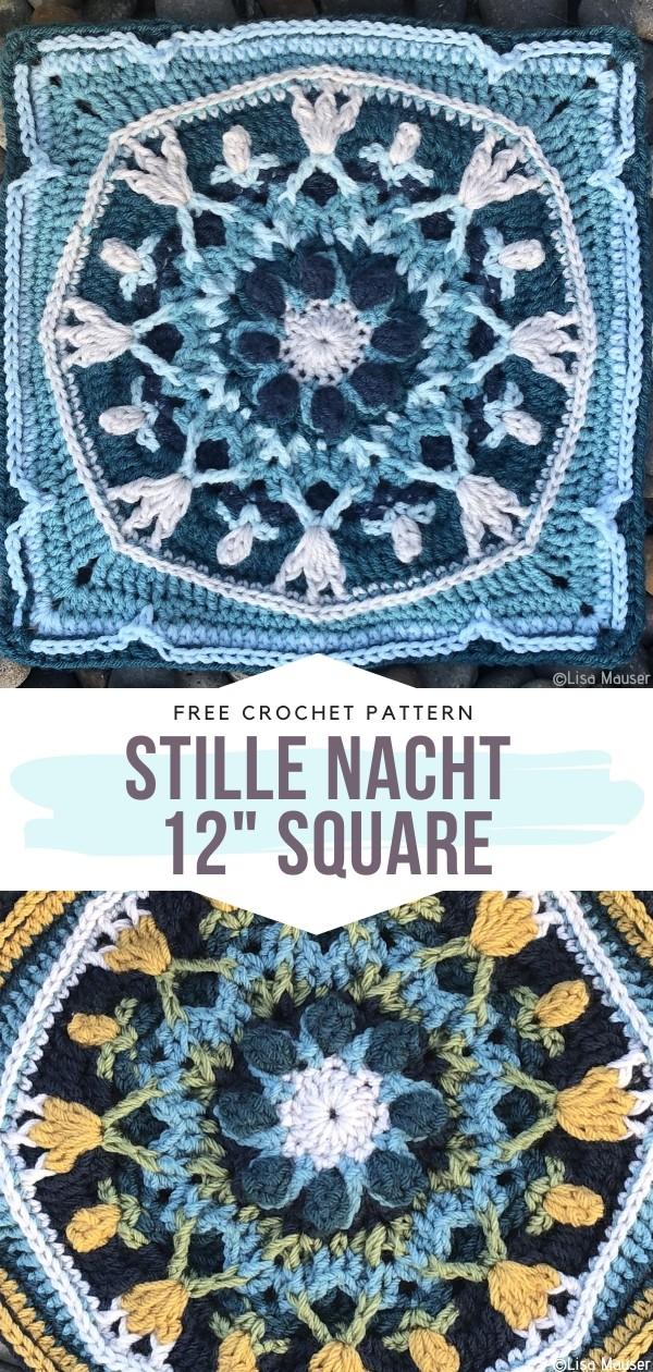 """Stille Nacht 12"""" Square"""