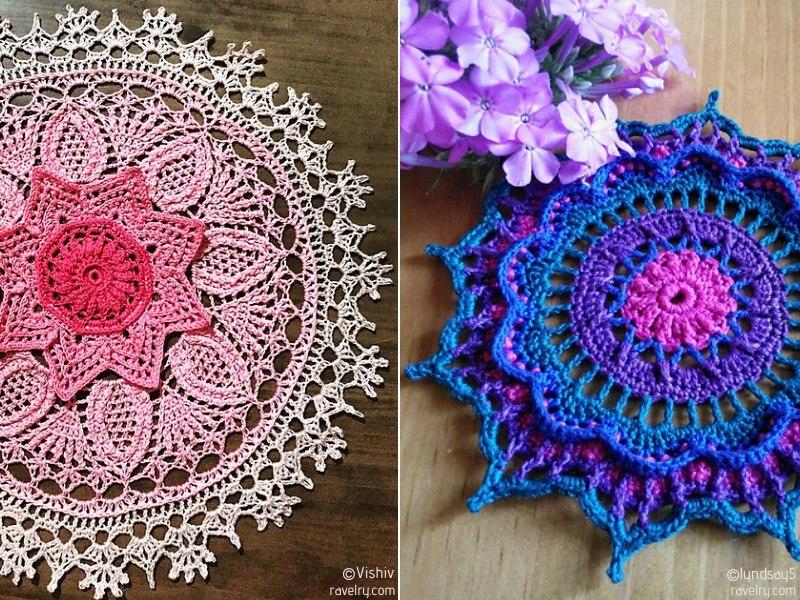 Gorgeous Crochet Doilies