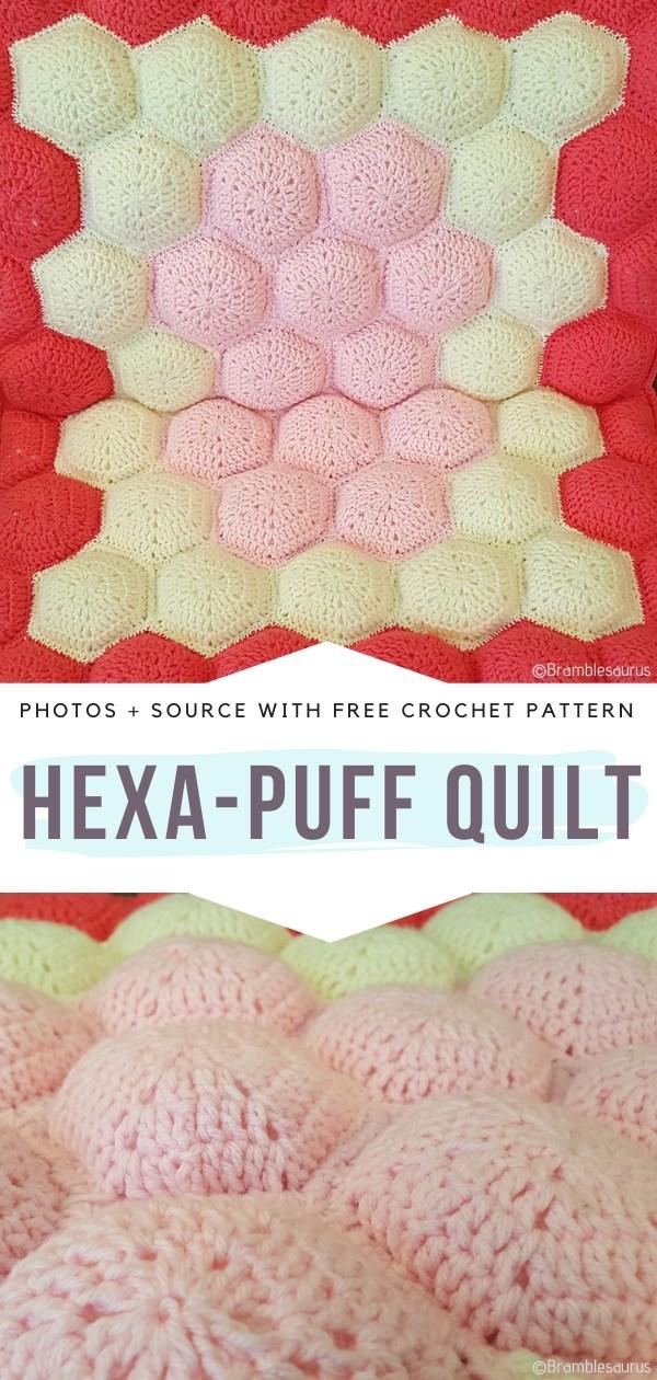 Hexa-Puff Quilt