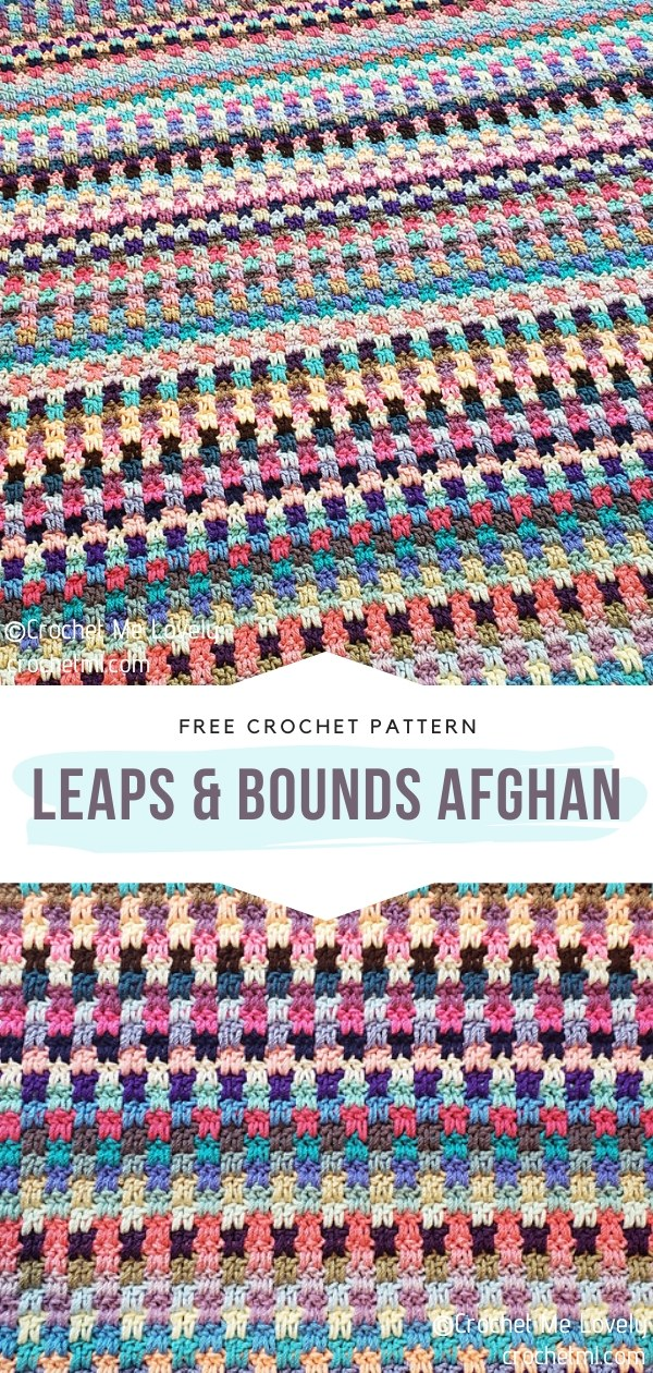 Leaps & Bounds Crochet Afghan