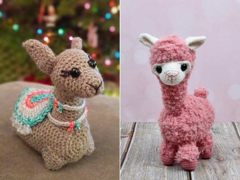 Lovely Alpacas Free Crochet Patterns