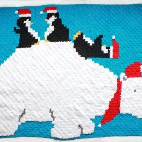 Lovely Winter Blankets Free Crochet Patterns