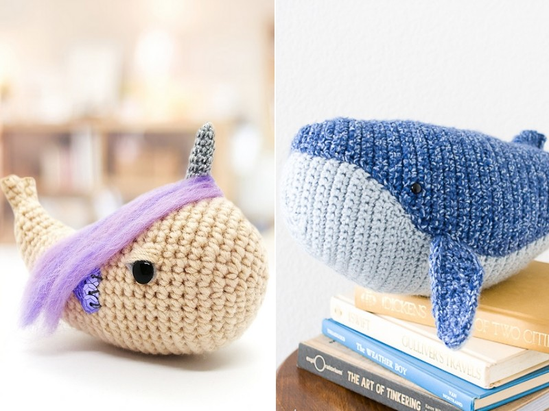 Ocean Amigurumi Free Crochet Patterns