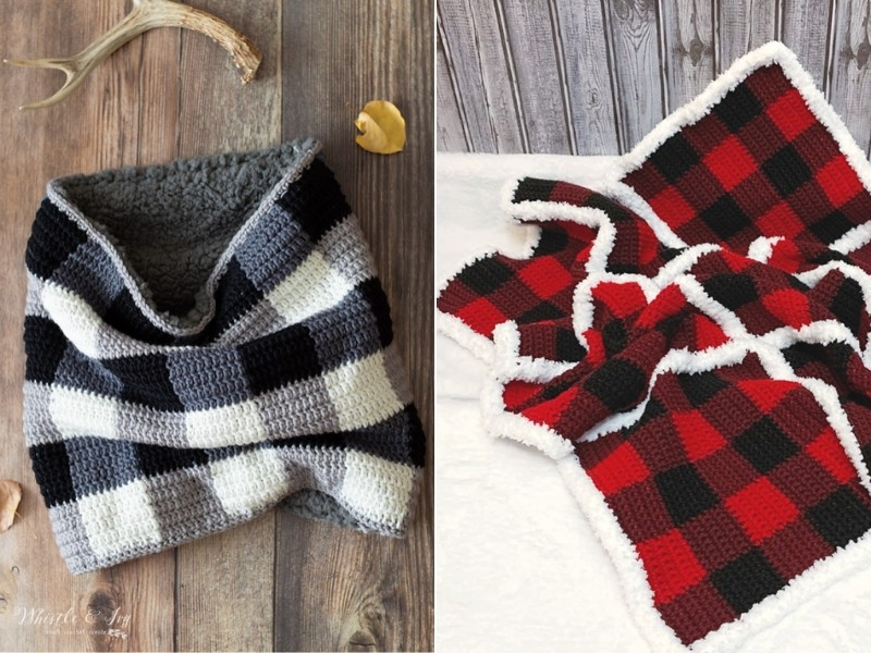 The Power of Plaid Free Crochet Patterns