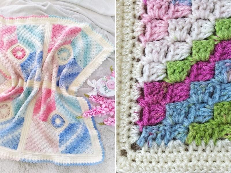 Pretty Pastel Blankets Free Crochet Patterns