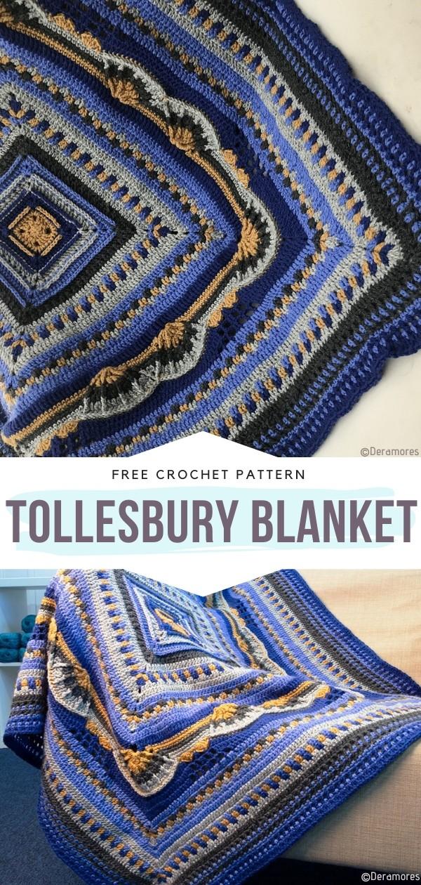 Tollesbury blanket Free Crochet Pattern