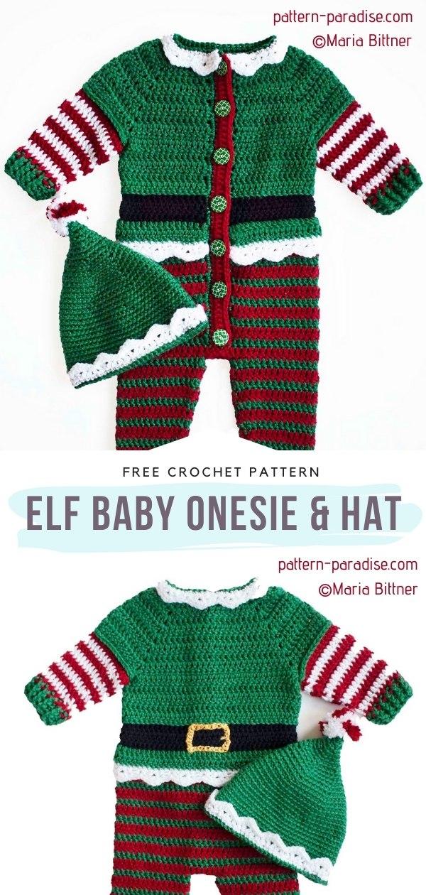 Elf Baby Onesie & Hat