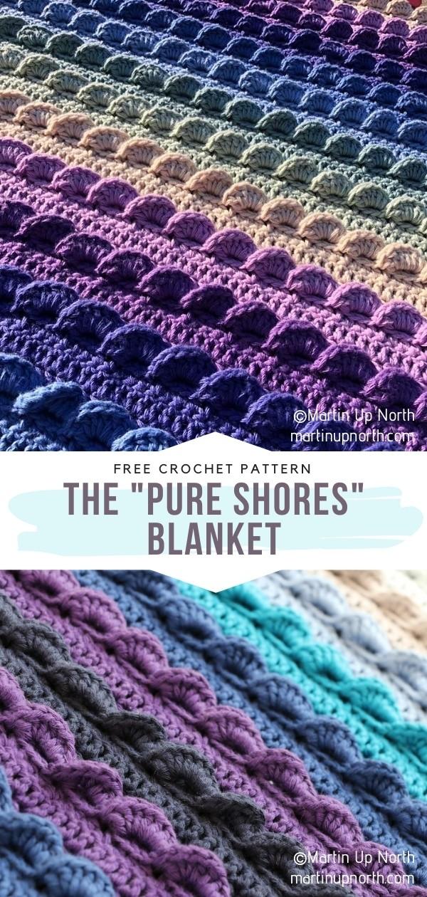 Textured Crochet Blanket