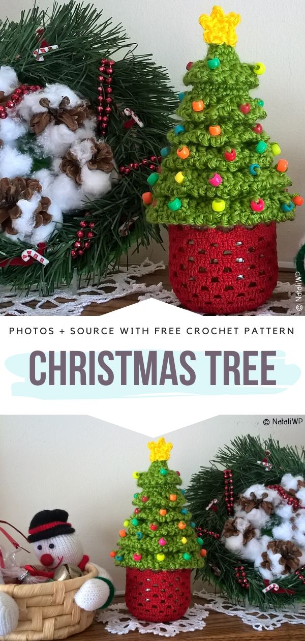 Free Crochet Pattern Christmas Tree