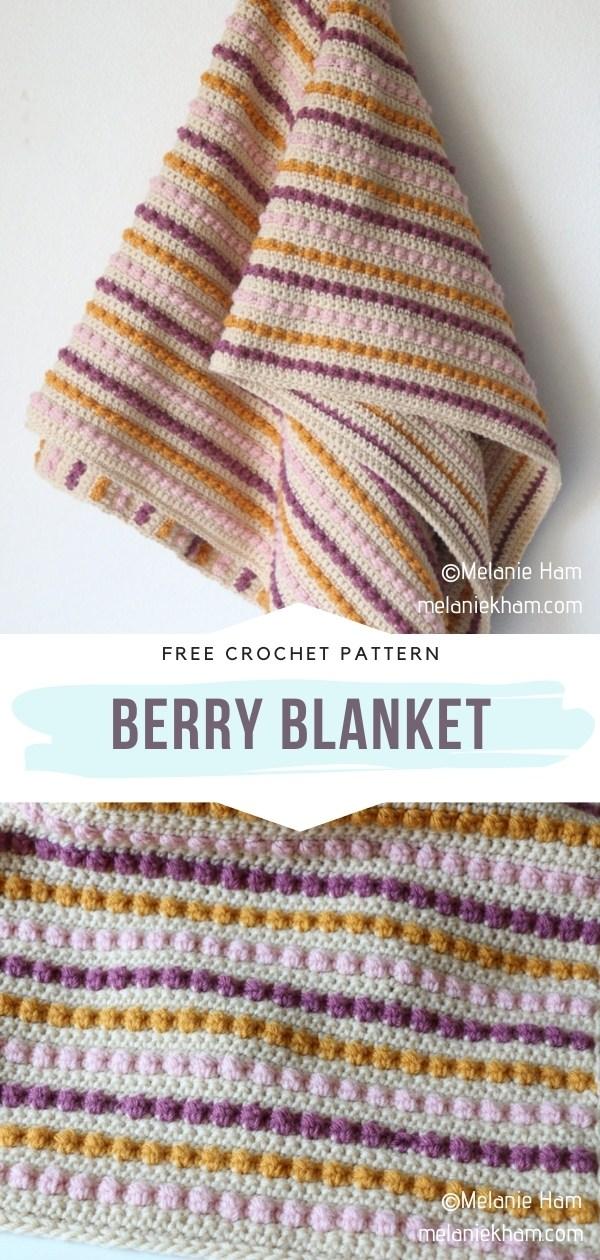 Berry Stitch Blanket