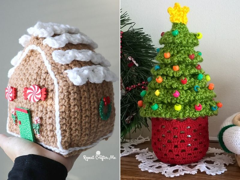 Free Crochet Patterns Must Have Christmas Decor