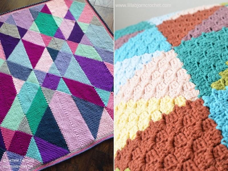 Funky Crochet Triangels