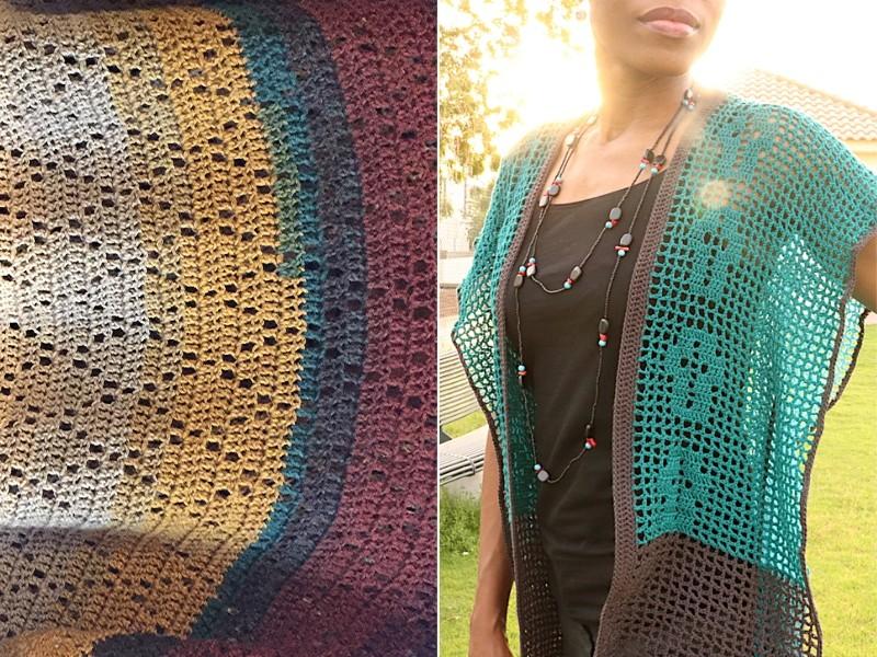 Colorful Kimonos Free Crochet Patterns