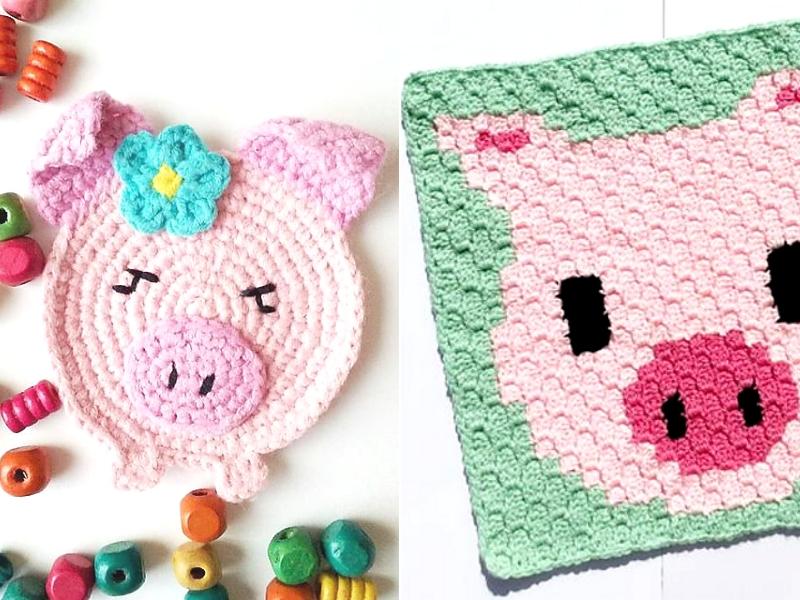 Fabulous Pigs Free Crochet Patterns