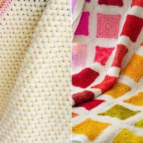 Crochet Rainbow Blankets Free Crochet Patterns