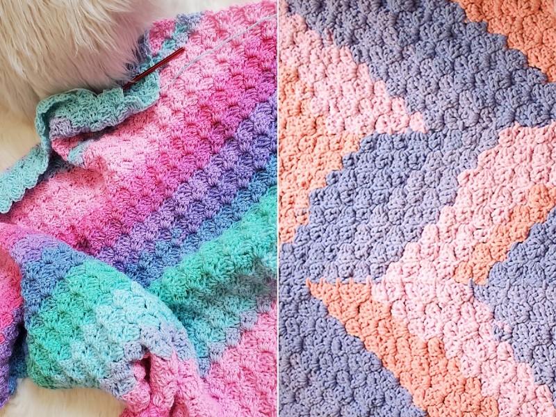 Great C2C Blankets Free Crochet Patterns