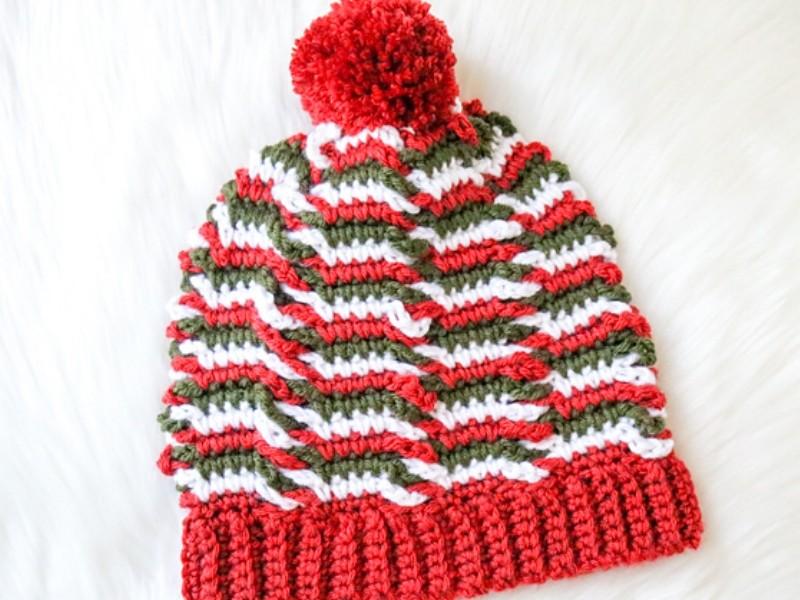 Intriguing Beanies Free Crochet Patterns