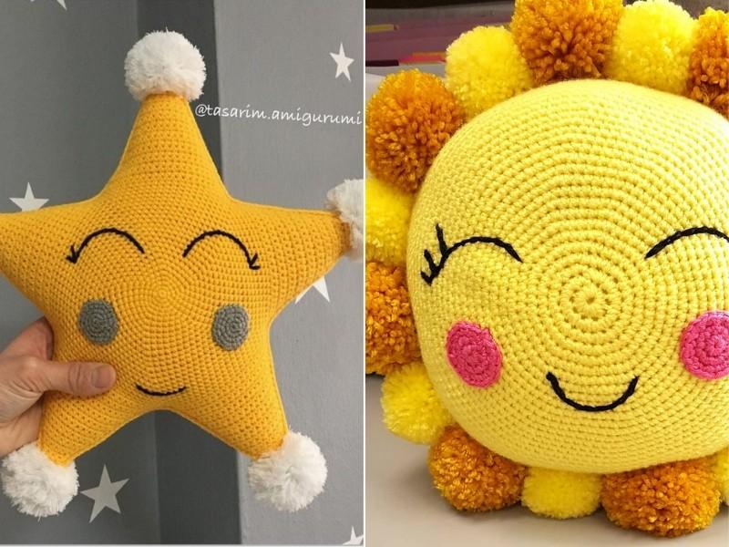 Shining Pillows Free Crochet Patterns