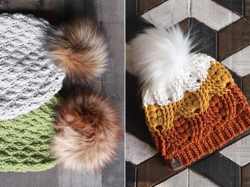 Soft Touch Beanies Free Crochet Patterns