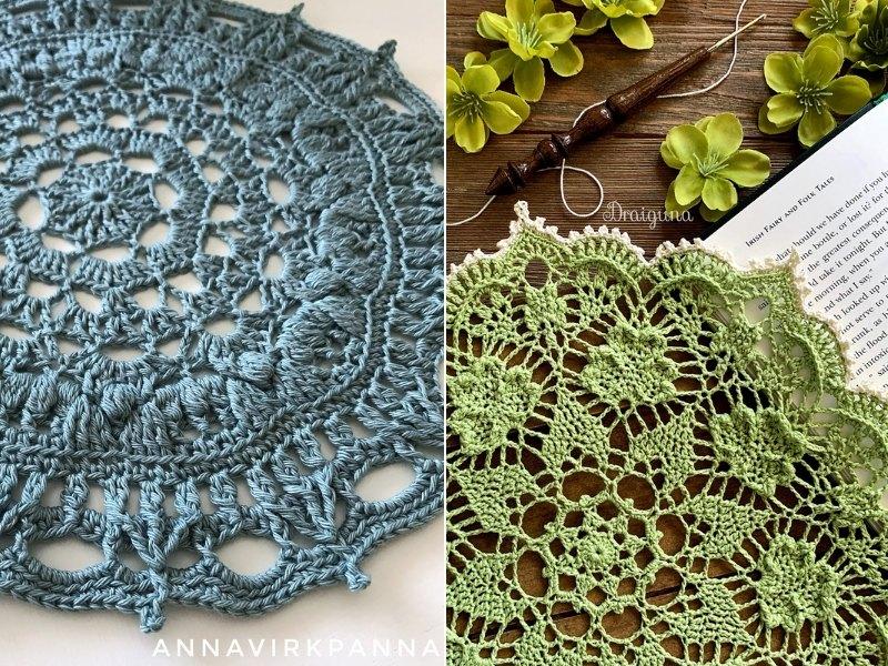 St. Patrick's Doilies Free Crochet Patterns