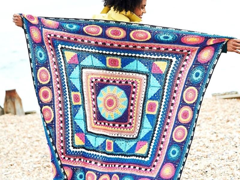 Starry Blankets Free Crochet Patterns