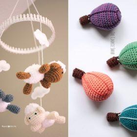 Sweet Baby Mobiles Free Crochet Patterns