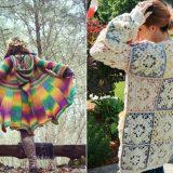 Fashion Queens' Crochet Coats - Free Patterns