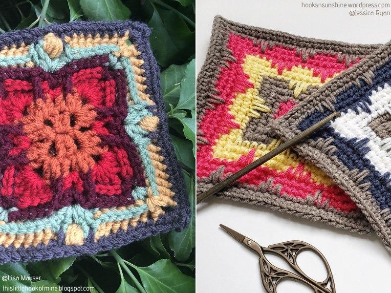 Art Deco Crochet Squares