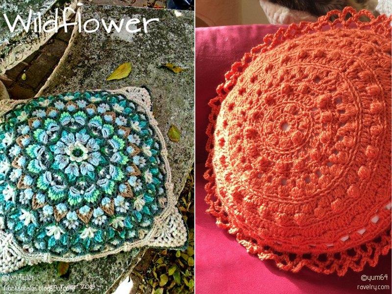 Artistic Pillows Free Crochet Patterns