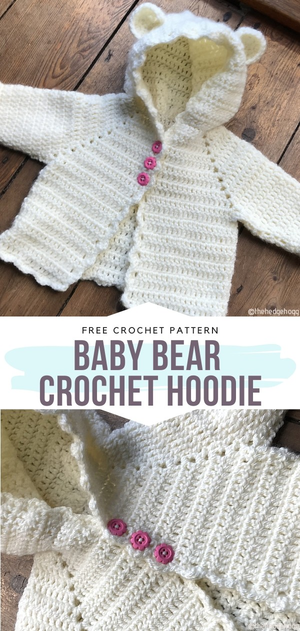 The Most Delightful Crochet Baby Cardigans With Free Patterns