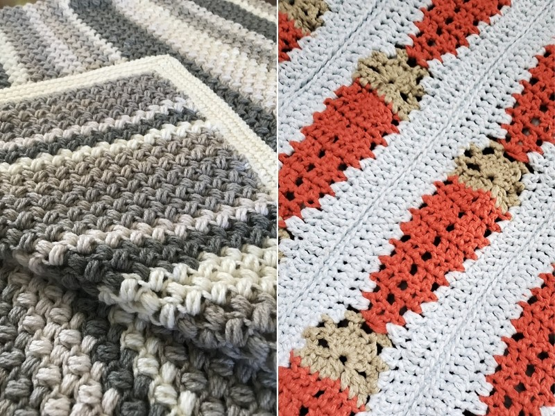 Bold Baby Blankets Free Crochet Patterns