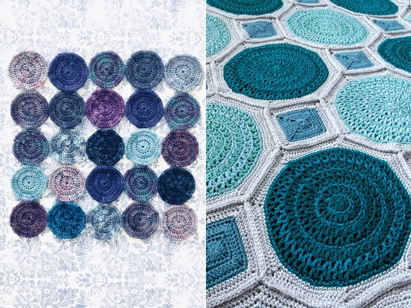 Colorful Circles Ideas Free Crochet Patterns
