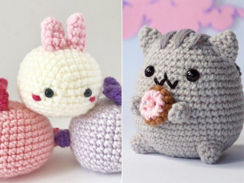 Cute Cube Amigurumi Free Crochet Patterns