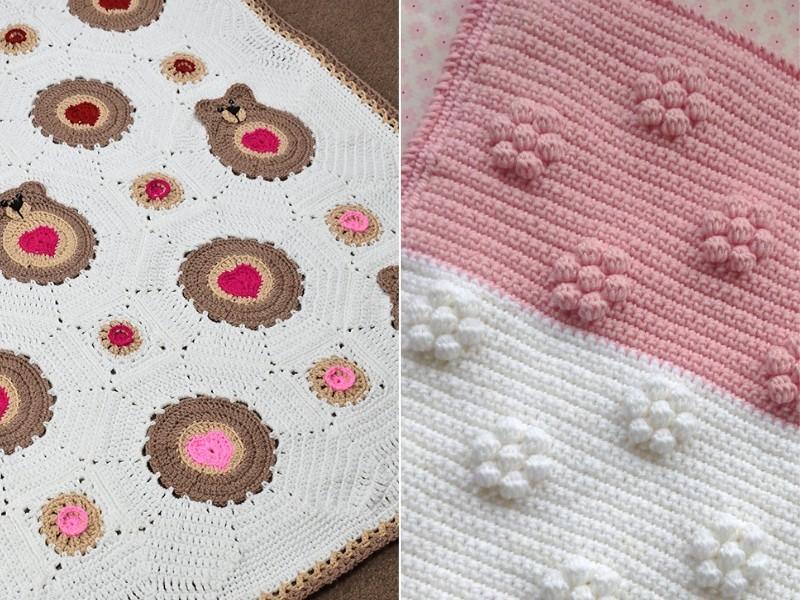 Delightful Valentine's Blanket Free Crochet Patterns