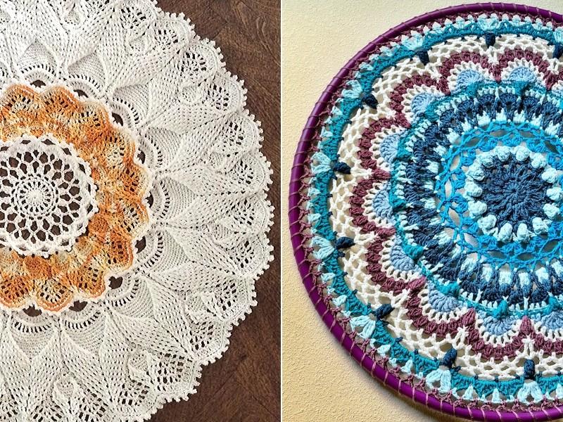 Great Mandalas Free Crochet Patterns