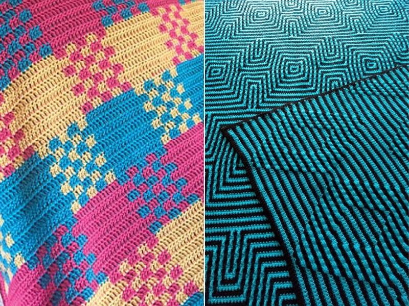 Hypnotizing Blankets Free Crochet Patterns