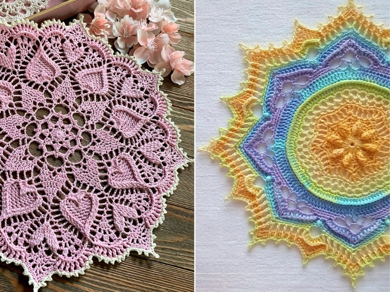 Incredible Doilies Free Crochet Patterns