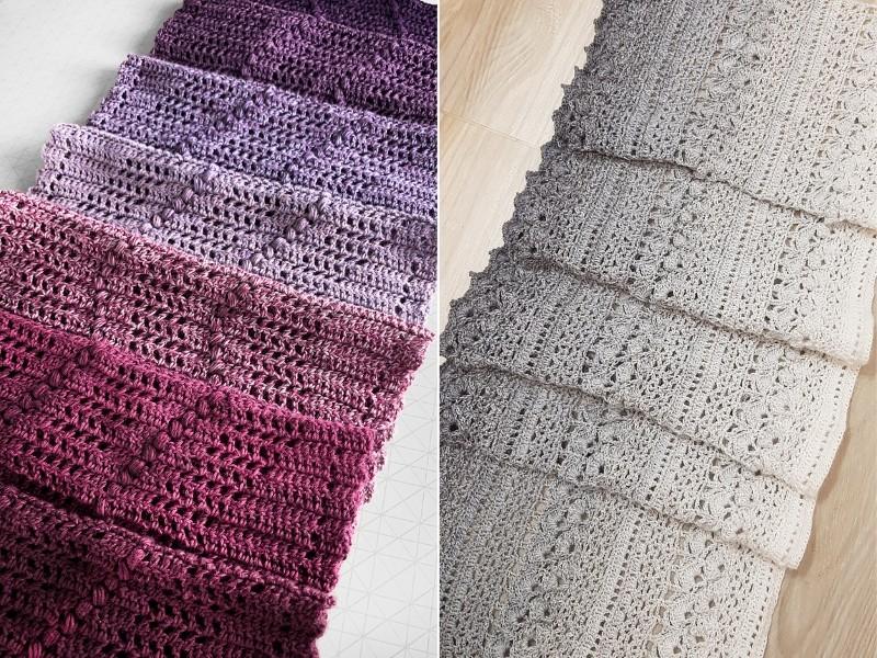 Modern Elegance Shawls Free Crochet Patterns