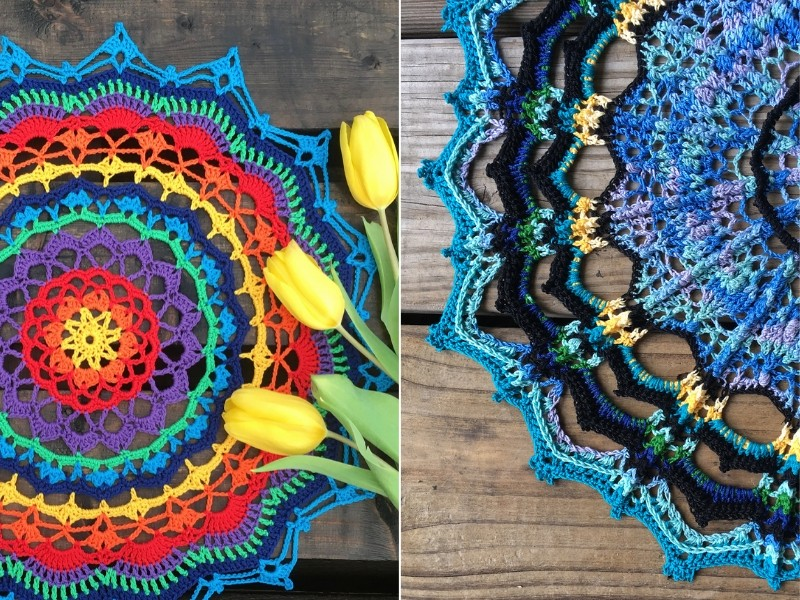 Stunning Crochet Mandalas Free Patterns