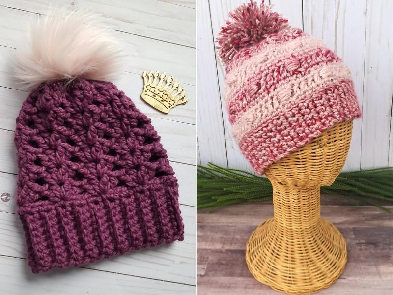 Sweet Berry Hats Free Crochet Patterns