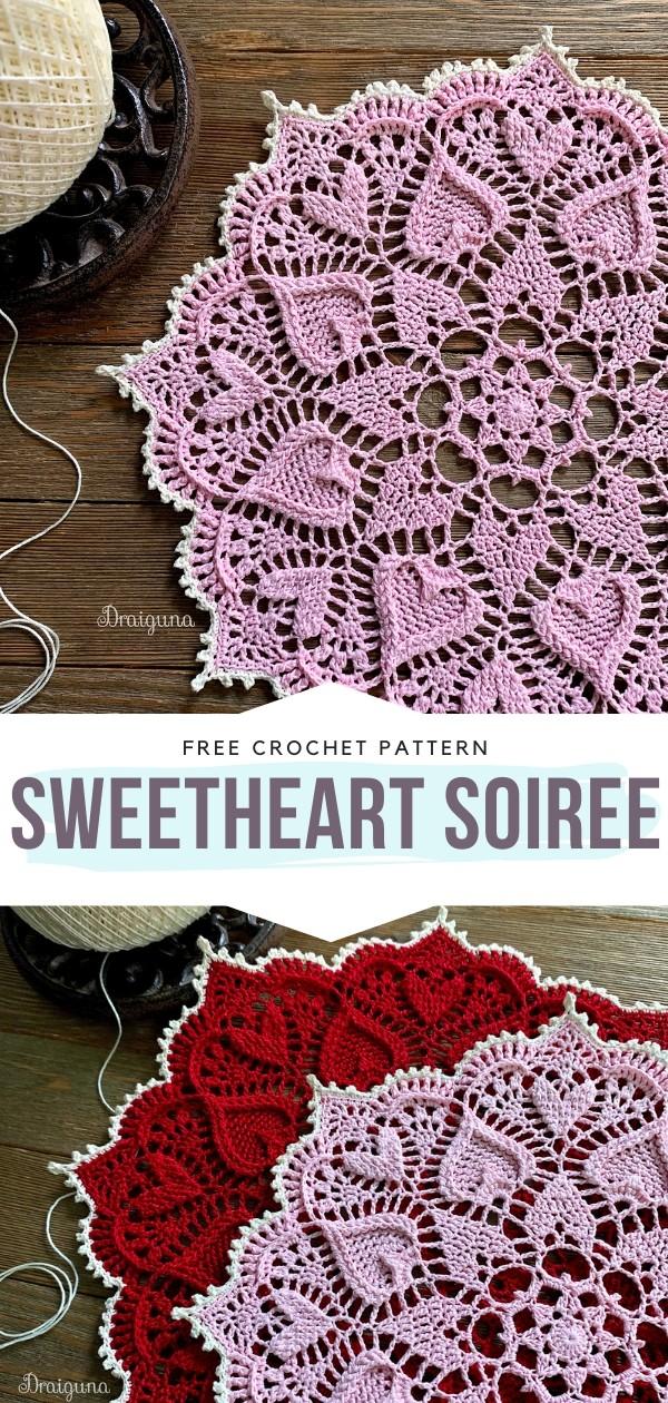 Sweetheart Soiree Free Crochet Pattern